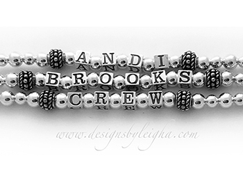 Andi, Brooks and Crew Mother's Bracelet without Birthstones found on www.DesignsByLeigha.com