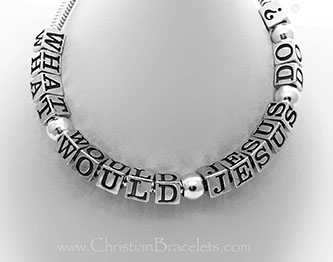 What Would Jesus Do? Bracelet www.ChristianBracelets.com