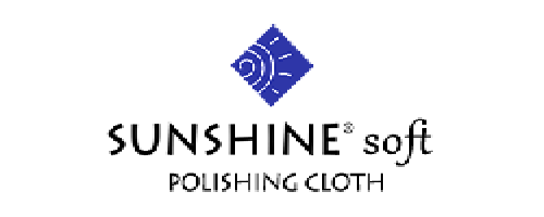 "The BLUE Sunshine® soft polishing cloth is softer than the original yellow polishing cloth. They come in bulk, in various quantities and in 3 sizes. Small: 2 1/2"" x 3 1/2"" or Medium: 3 3/4"" x 5"" or Large: 5"" x 7 1/2"". The BLUE Sunshine® soft safely cleans and polishes jewelry, gold, silver, brass, copper, glass, mirrors, and most other metals, leaving a deep, long-lasting luster.  https://www.sunshinepolishingcloth.com/store_blue.html"