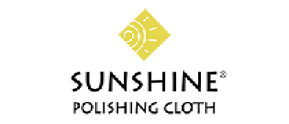 "The original YELLOW Sunshine® polishing cloth safely cleans and polishes jewelry, gold, silver, brass, copper, mirrors, coins hub caps, bells, badges and most other metals, leaving a deep, long-lasting luster.  We also now carry a cloth that is slightly softer than the yellow. It is called Sunshine® soft. They come in bulk, in various quantities and in 3 sizes. Small: 2 1/2"" x 3 1/2"" or Medium: 3 3/4"" x 5"" or Large: 5"" x 7 1/2"". You can use them at your bench or give them out to your customers with your business card. https://www.sunshinepolishingcloth.com/store_yellow.html"